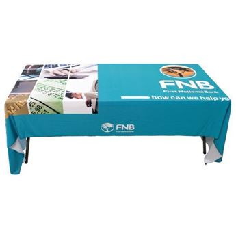 1.4m x 3m Tablecloth With Full Colour Print, CLOTH018