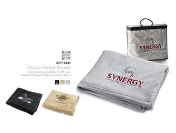 Picture of Cocoon Fleece Blanket and Bag