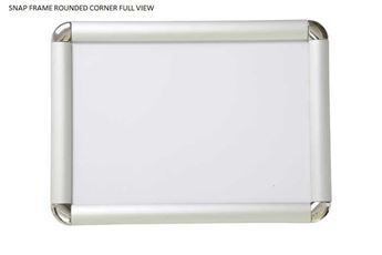 Picture of Rounded Corner Snap Frames