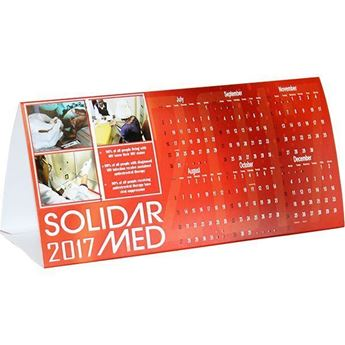Advertising Tent Calendar With Fc - TENT005, TENT005