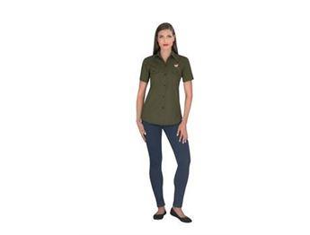 Ladies Short Sleeve Oryx Bush Shirt, ALT-OXLS