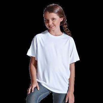135g Kiddies Polyester T-Shirt, TST135K