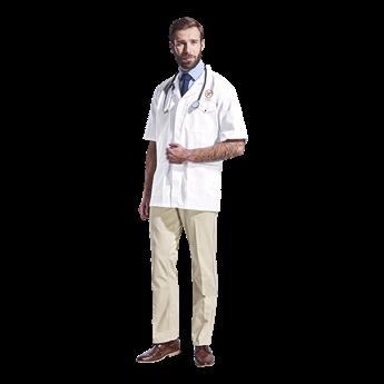 All-Purpose Short Sleeve Lab Coat, LAB-ALL