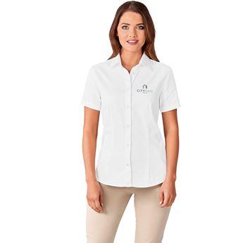 Ladies Short Sleeve Milano Shirt, BAS-7771