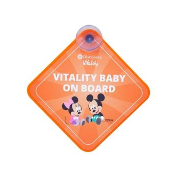 Baby On Board Sign With Sticker, 206