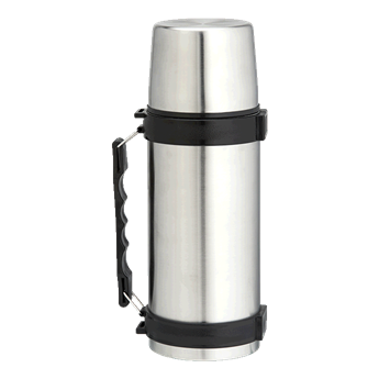 1l Stainless Steel Travel Flask With Carry Handle, BW0064